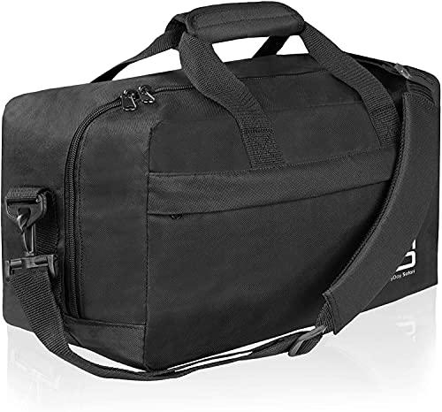 EveryDay Safari, Bagage Cabine Noir pour Ryanair 40x25x20 cm Sac à Main de Bagage