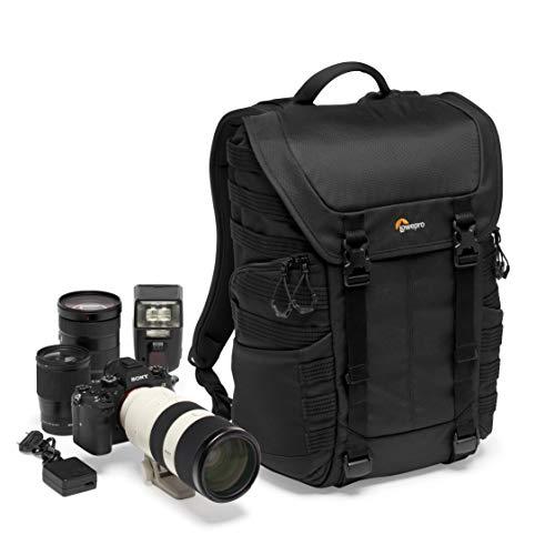 Lowepro ProTactic BP 300 AW II Sac à Dos pour Reflex ou Hybride type Sony Alpha9 - avec Séparateurs QuickShelf pour Equipement Photo et Effets Persos - LP37265-PWW