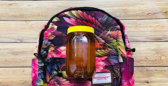 Miel en bagage cabine