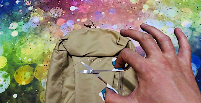 Ciseaux à ongles en bagage cabine