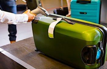 Liquides dans les bagages de soute