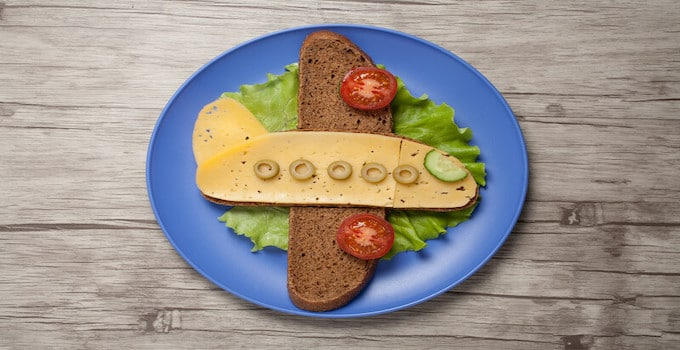 Sandwichs en cabine