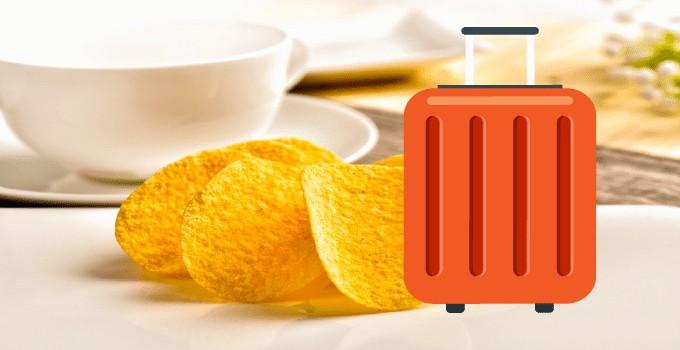 Chips en bagage cabine