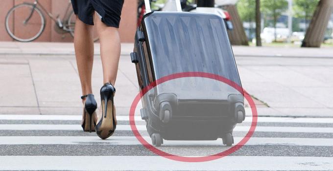 Dimensions des bagages à main: Les roues sont-elles incluses ?