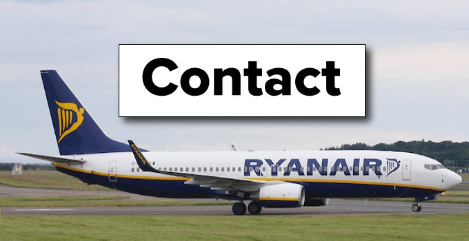 Contactez Ryanair
