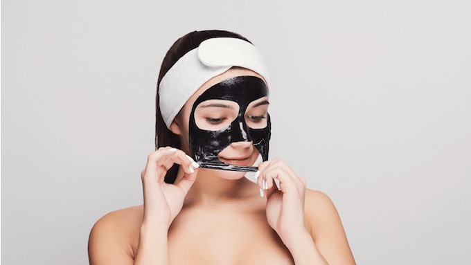 Masques tissus en bagage cabine