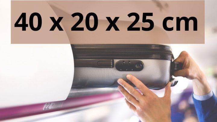 Bagage Cabine 40 x 20 x 25 cm